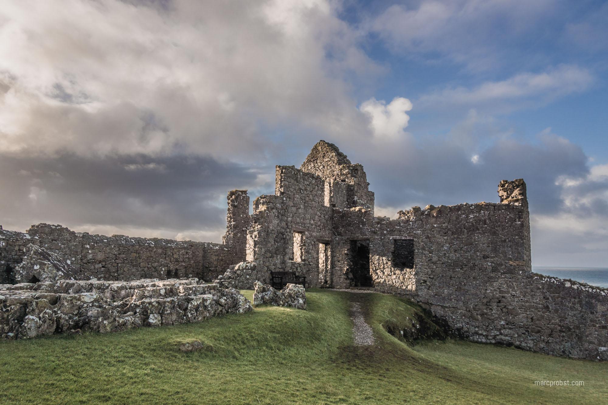 Dunluce Castle in Nordirland